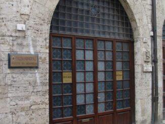 Sala dell'udienza del Nobile Collegio della Mercanzia