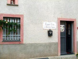 Tipica casa contadina ligure di Sciarborasca