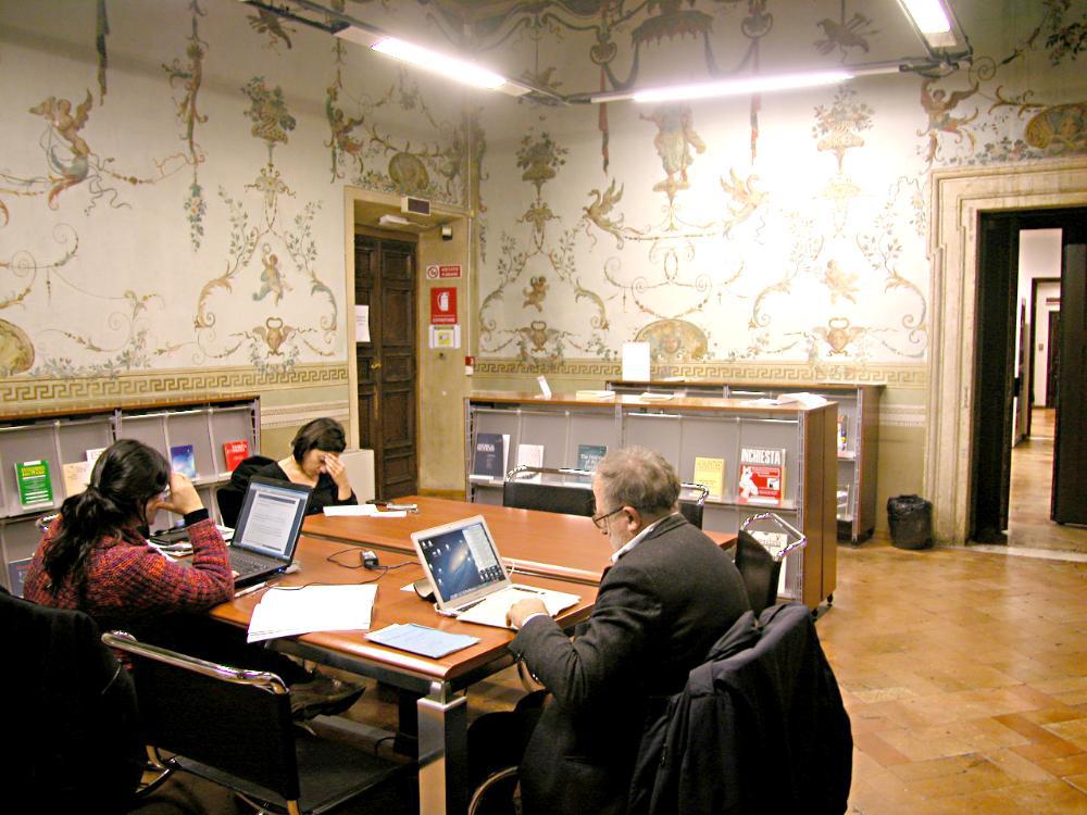 Biblioteca di storia moderna e contemporanea, Roma