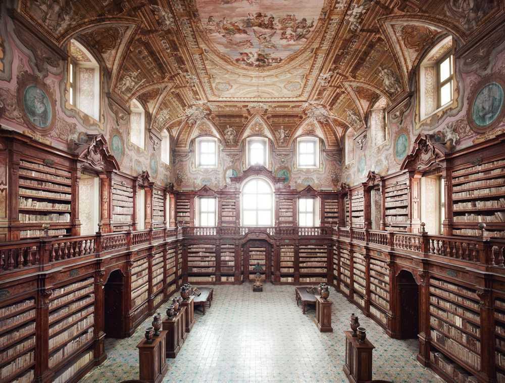 Biblioteca statale oratoriana annessa al Monumento nazionale dei Girolamini, Napoli