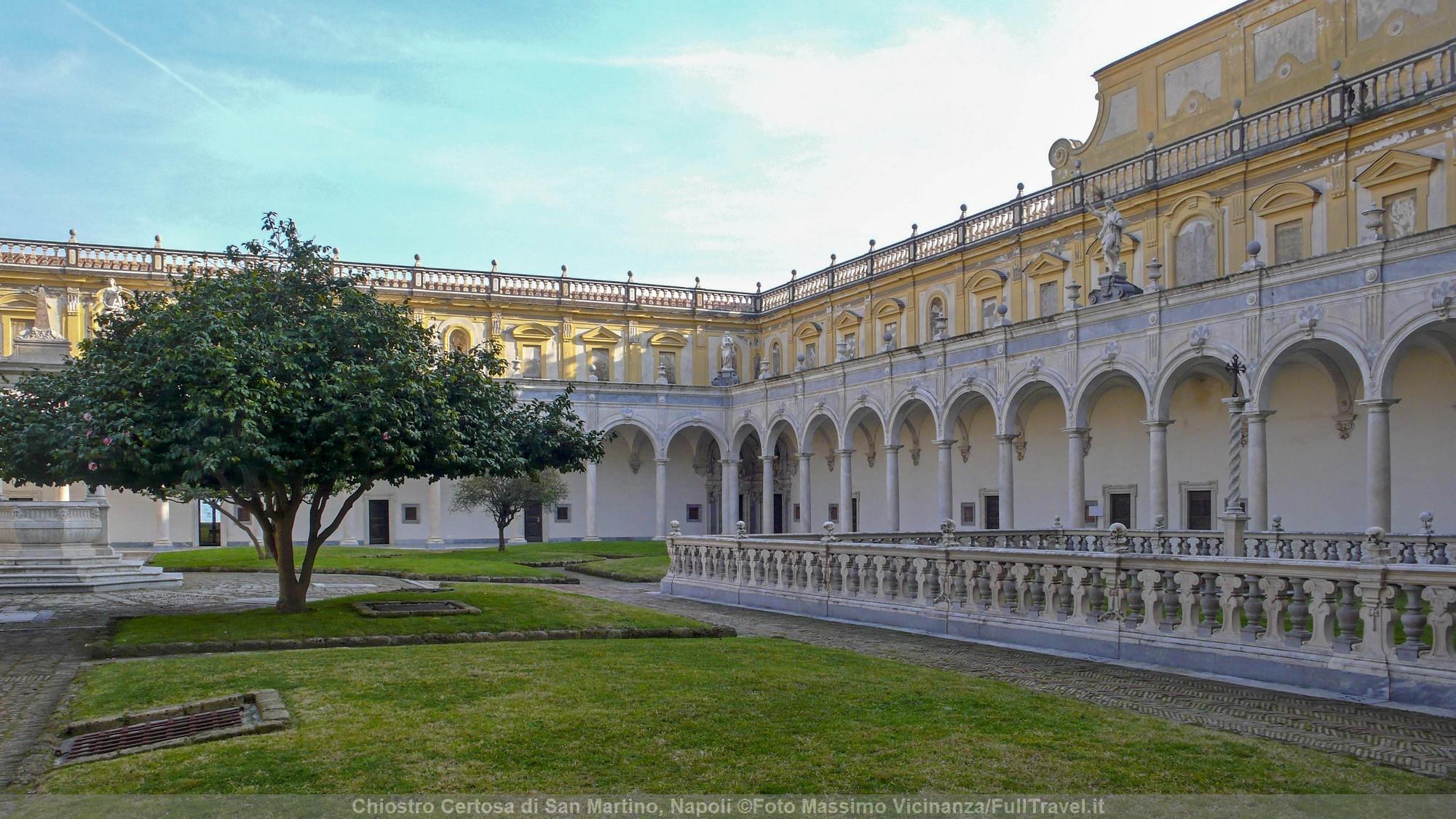 Chiostro Certosa San Martino, Napoli ©Foto Massimo Vicinanza/FullTravel