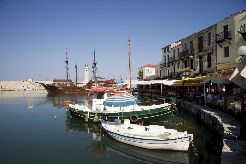 Creta, Rethymno in Grecia