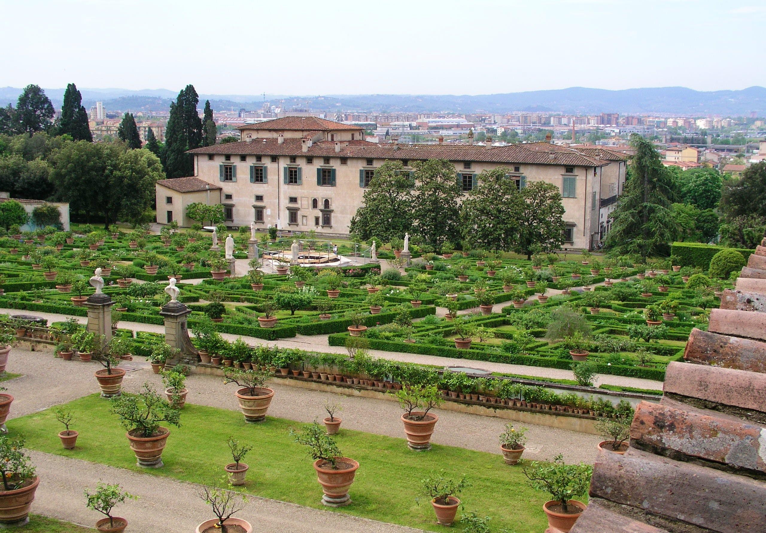 Giardino della Villa di Castello, Firenze