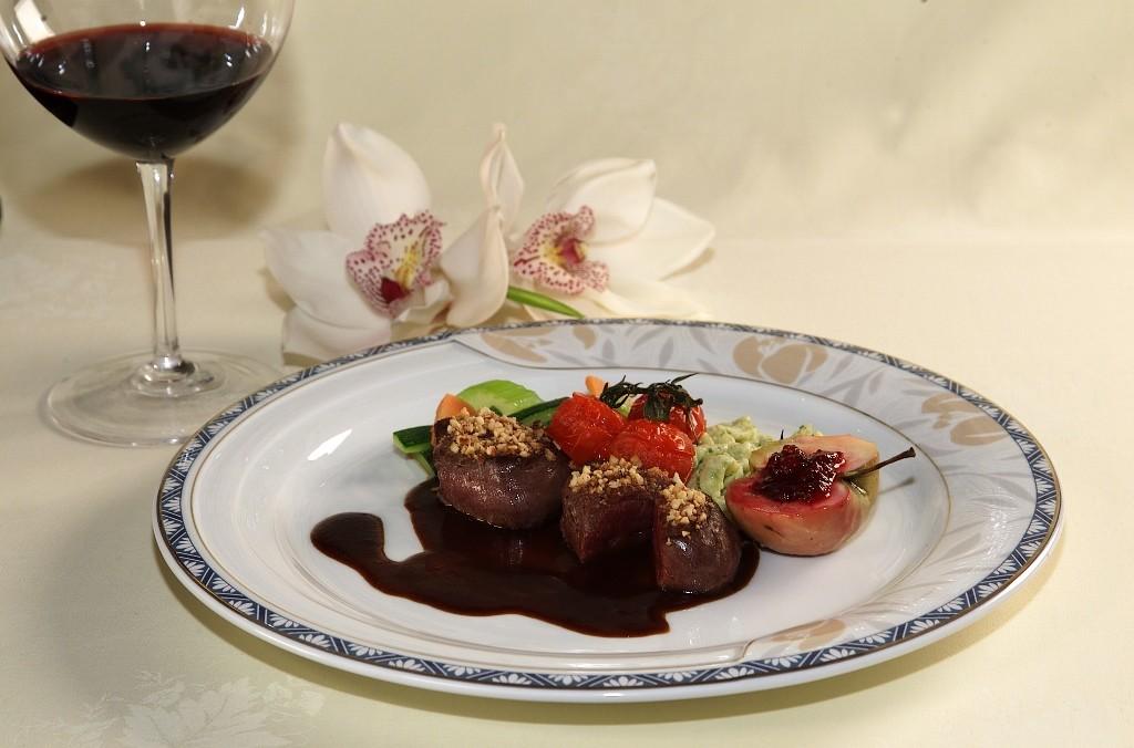 Hotel Sassongher, cucina gourmet