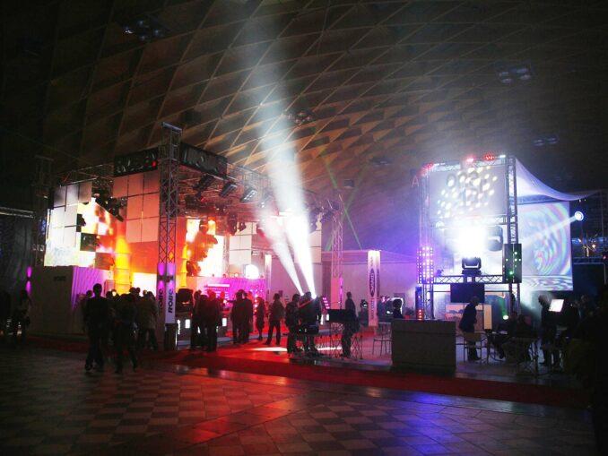 Music inside Festival Rimini
