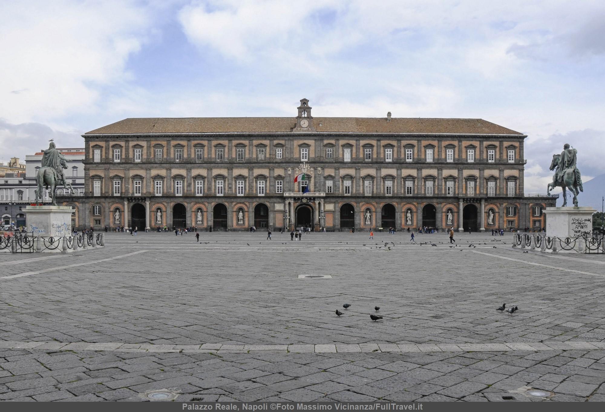 Palazzo Reale di Napoli ©Foto Massimo Vicinanza/FullTravel