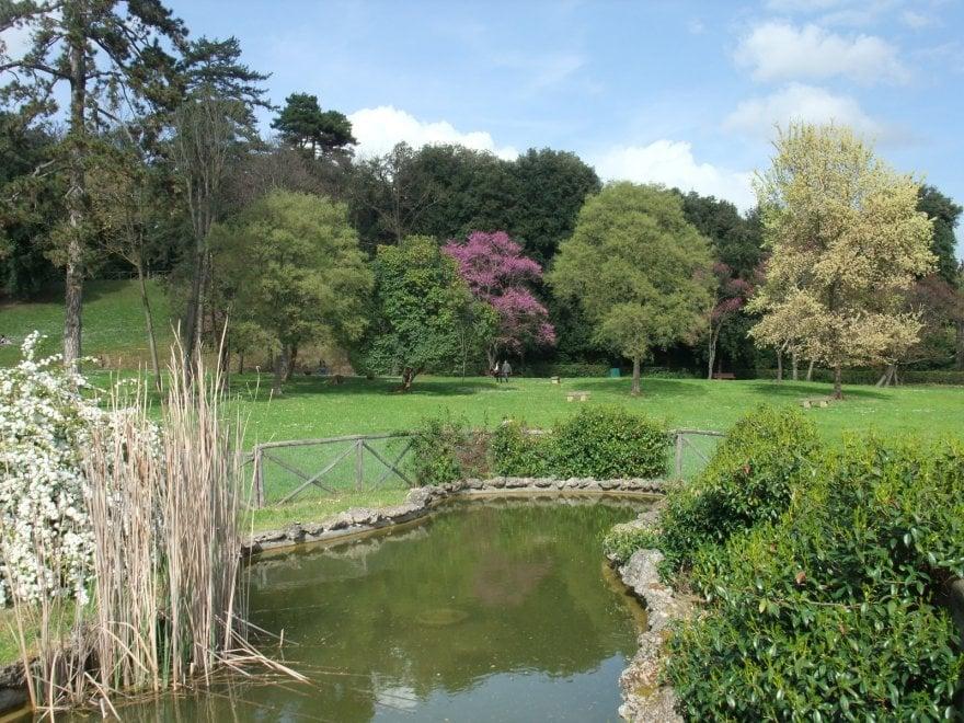 Parco di Villa Il Ventaglio, Firenze