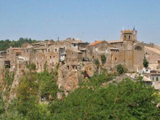 Il borgo di Calcata, Viterbo ©Foto di Anna Bruno