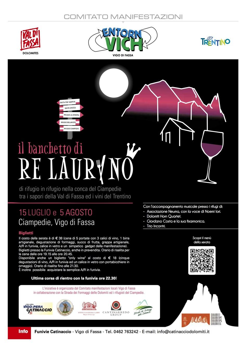 A Cena con Re Laurino