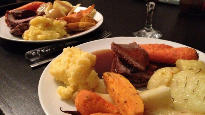 Piatto della tradizione inglese