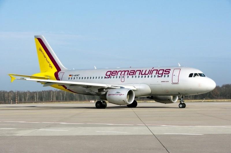 Germanwings, aereo della flotta