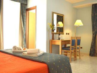 Hotel Bristol, Enna: una delle camere
