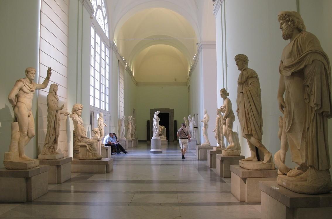 Museo Archeologico Nazionale di Napoli, interno