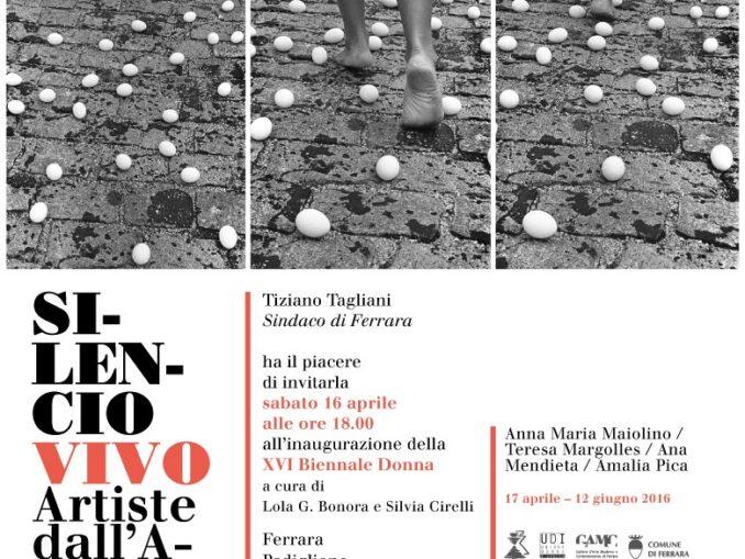 Silencio Vivo. Artiste dell'America Latina a Ferrara
