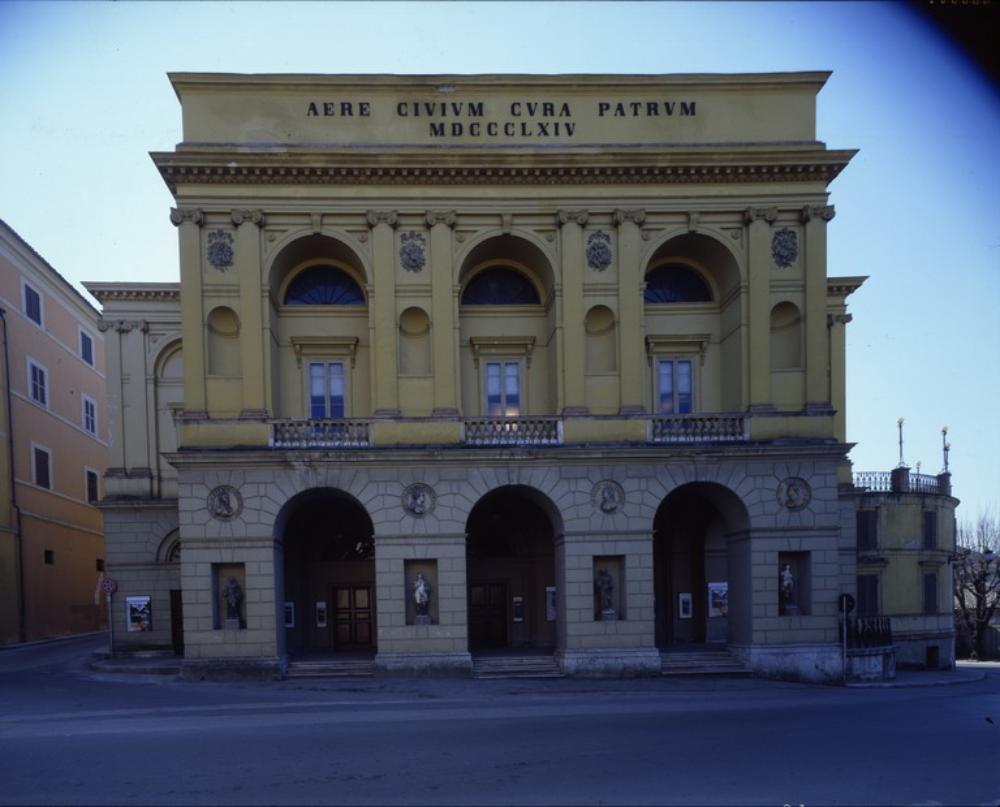 Teatro nuovo, Spoleto