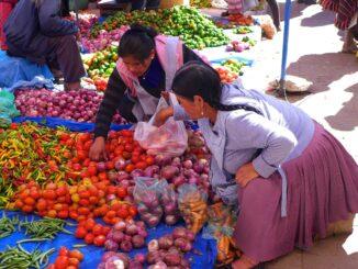 Mercato da Tarabuco, Bolivia