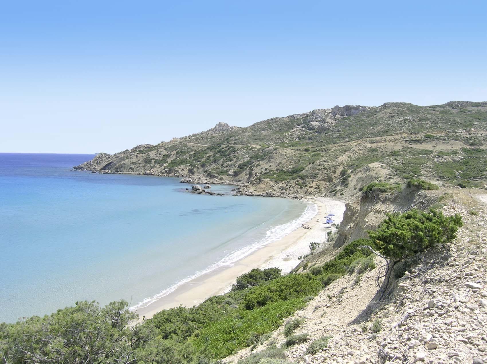 Spiaggia di Damatria, Grecia