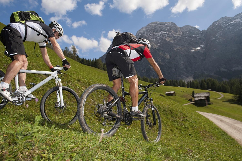 In bici sulle Dolomiti
