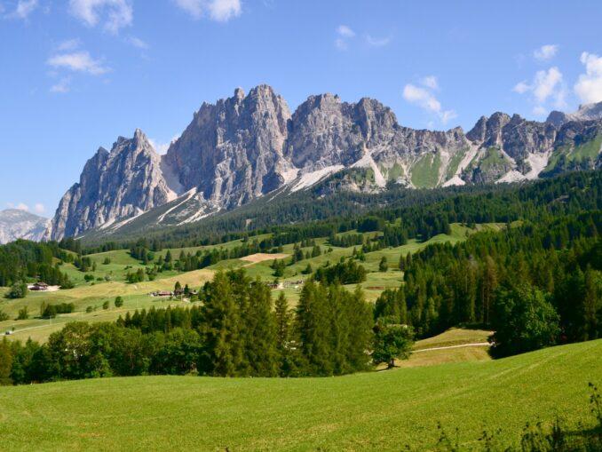 Cortina d'Ampezzo, estate
