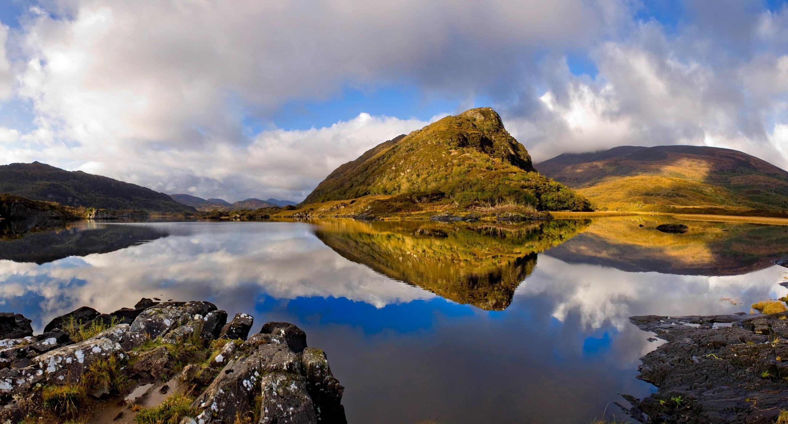 Stupendo paesaggio irlandese