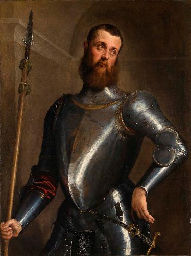 Jacopo Bassano. Il ritratto di uomo in armi