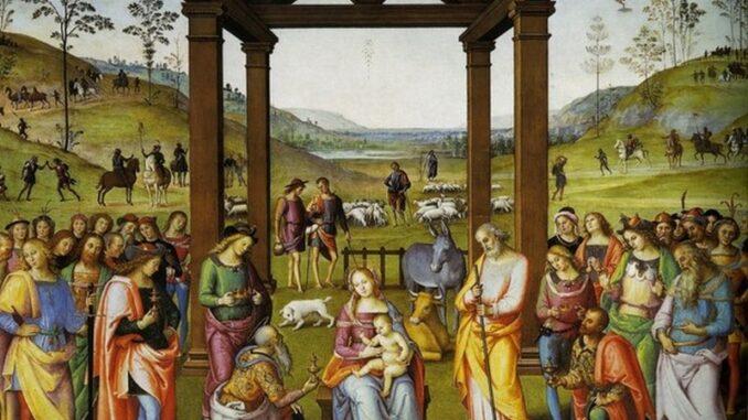 L'arte di dipingere l'aria, il Perugino