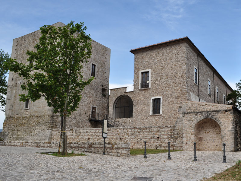Museo dell'opera dell'area Castello, Sant'Angelo dei Lombardi