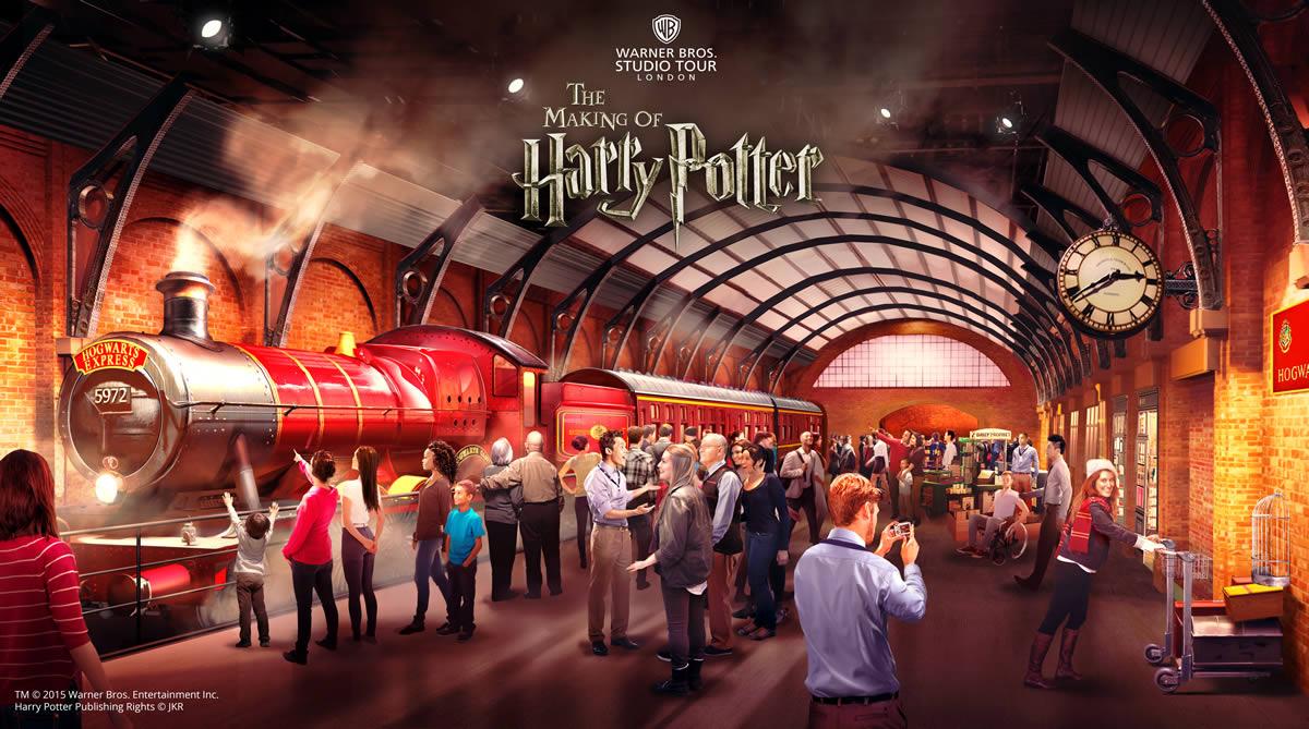 Parco tematico Harry Potter a Londra: Hogwarts Express