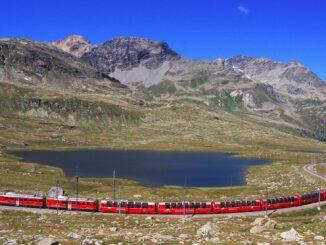 Trenino dei ghiacciai, Svizzera
