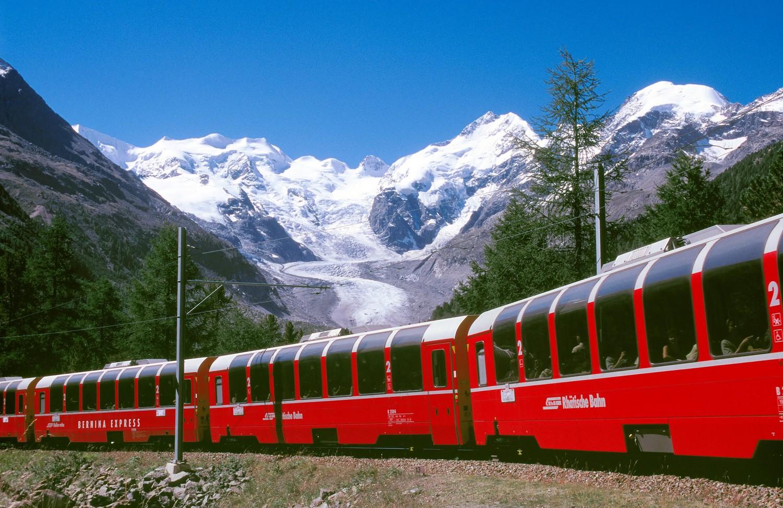 Trenino delle nevi, Svizzera