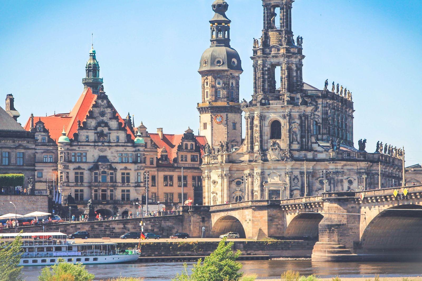 Hofkirche, chiesa cattolica di Dresda ©Foto Werner, Karol