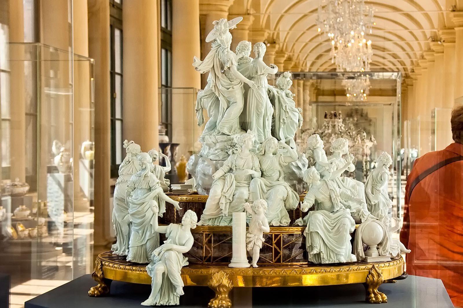 Capolavori di porcellana esposti nel Palazzo Zwinger di Dresda - ©Foto Antoni, Andreas