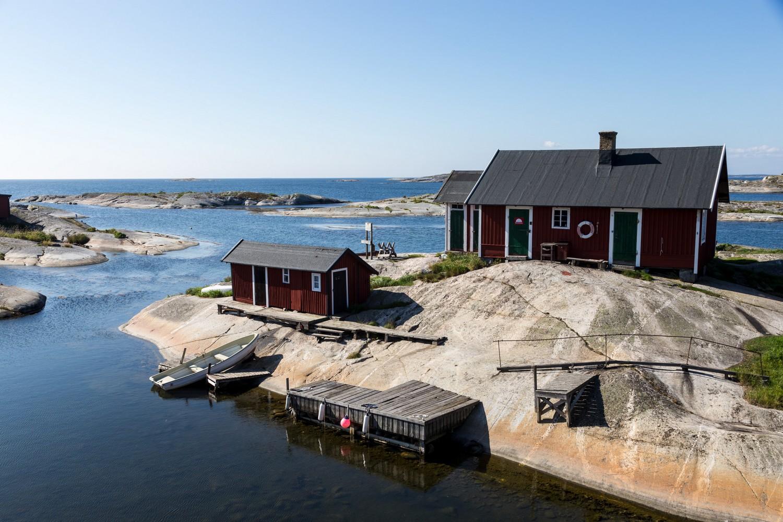 Isola dell'arcipelago di Stoccolma, nei dintorni