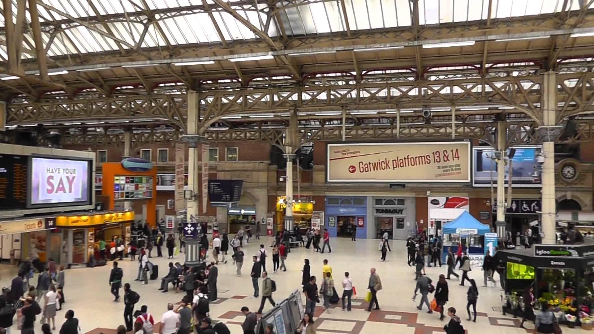 Interno London Victoria Station