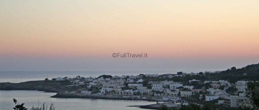 Leuca, nel Salento in Puglia, al tramonto ©Foto Anna Bruno