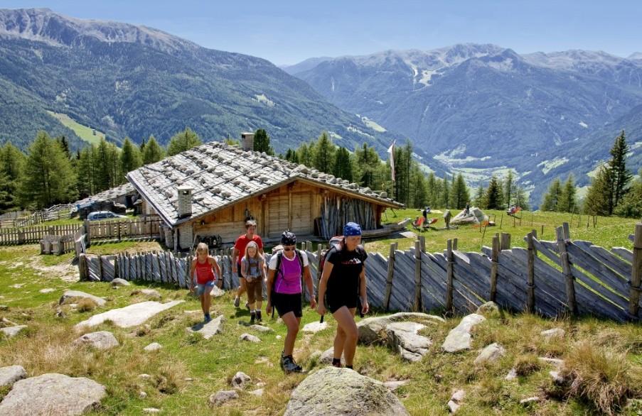 Lungo il Sentiero del Sole, In valle Aurina - Alto Adige | Foto ©TVB Tauferer Ahrntal
