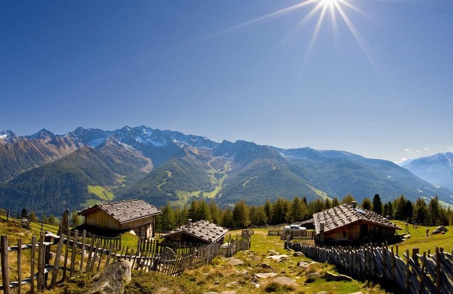 Paaesaggio della Valle Aurina in Alto Adige - Foto Consorzio Kronplatz