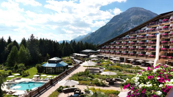 Interalpen – Hotel Tyrol *****S, l'esterno