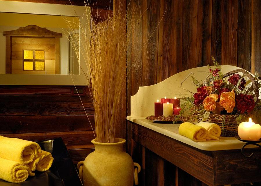 Hotel Salvadori a Mezzana (Marileva), particolare della SPA