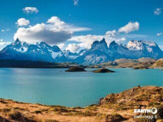 Splendido paesaggio del Cile