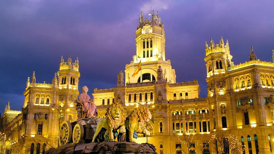 Madrid cosa vedere: Plaza de Cibeles a Madrid