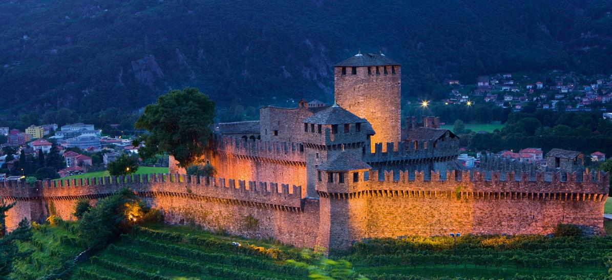 Castello di Montebello, Bellinzona