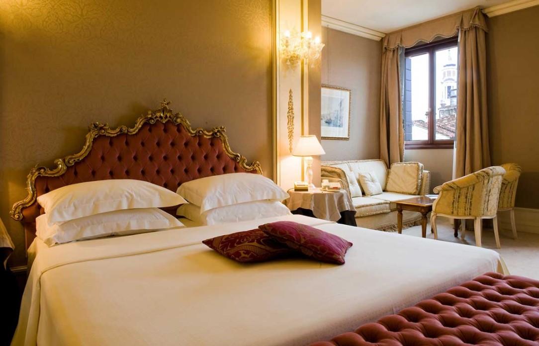 Ca Segreto hotel Venezia, camera da letto