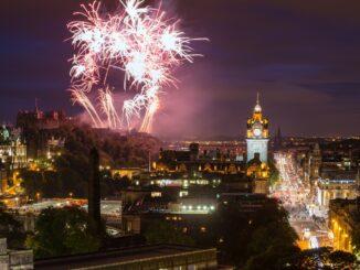Festa dell'Hogmanay, Edimburgo in Scozia