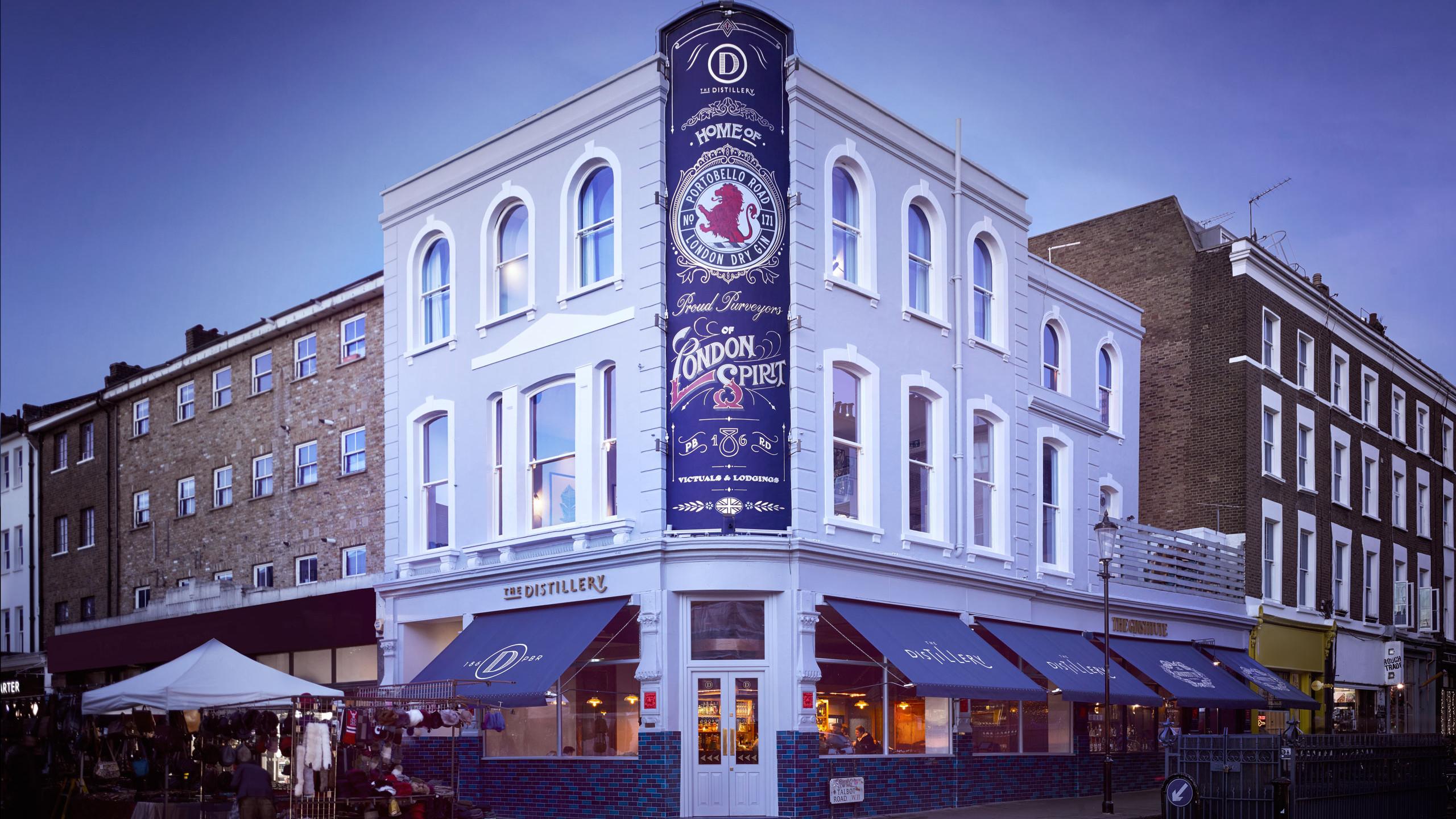Portobello Road Gin Londra