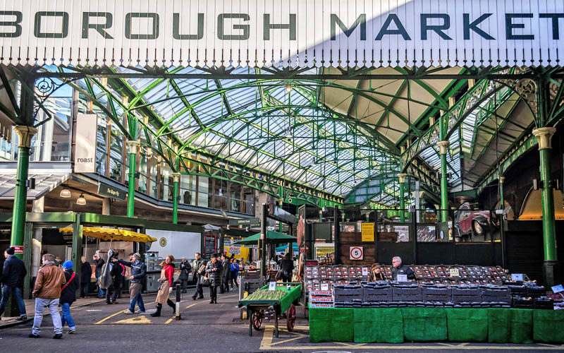 Borough Market, Londra
