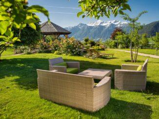 Garberhof, giardino wellness