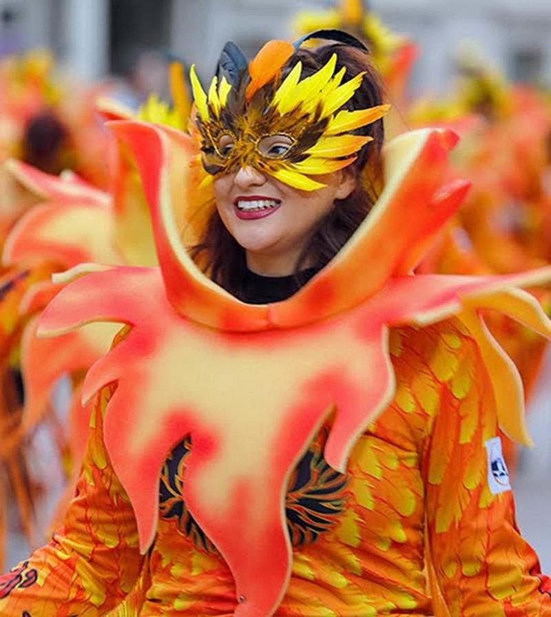 Maschere del Carnevale di Rijeka (Fiume) in Croazia