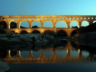 Pont du Gard, Acquedotto Nimes - Patrimonio dell'Unesco