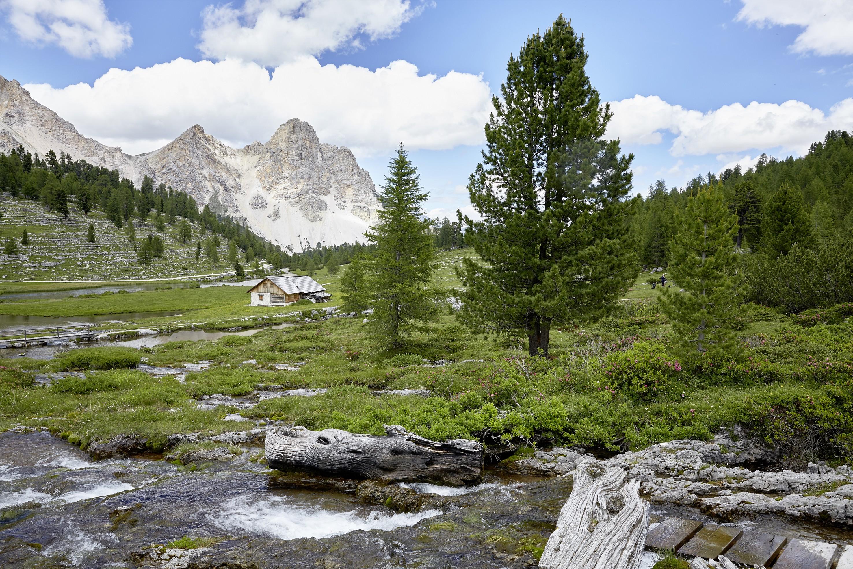 Paesaggio dell'Alto Adige nei pressi dell'Excelsior Dolomites Life Resort****S a San Vigilio di Marebbe